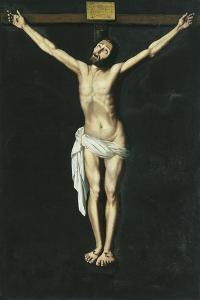 Christ on the Cross by Francisco de Zurbarán