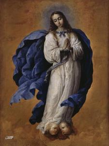 Immaculée Conception by Francisco de Zurbarán