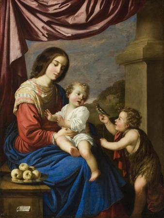 Madonna and Child with the Infant Saint John, 1658 by Francisco de Zurbaran