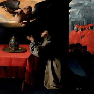 Saint Bonaventure, Ca. 1628-1629 by Francisco de Zurbarán