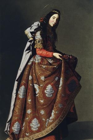 Saint Casilda of Toledo, Ca 1630-1634