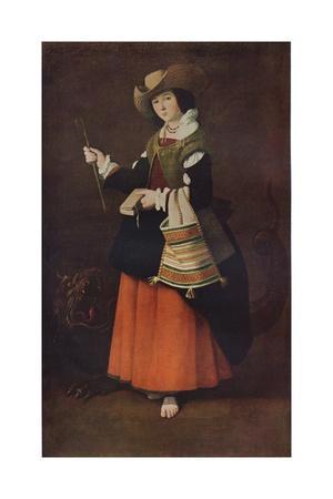 Saint Margaret of Antioch, c1630, (1937)