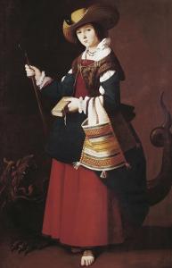 Saint Margaret by Francisco de Zurbarán