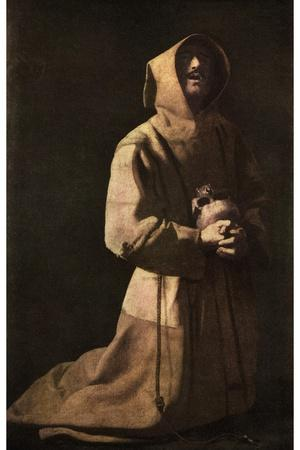 Sanctity: St Francis in Meditation, 1635-1639