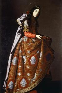 St Casilda, 1630-1635 by Francisco de Zurbaran