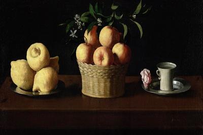 Still Life with Lemons, Oranges and a Rose, 1633