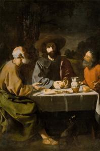 Supper at Emmaus by Francisco de Zurbarán