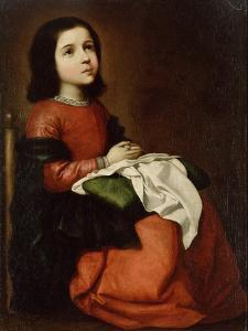 The Childhood of the Virgin, C1660 by Francisco de Zurbarán