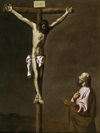 The Crucified Christ with a Painter, c.1650
