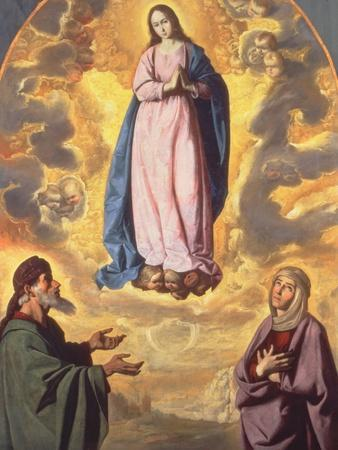 The Immaculate Conception with Saint Joachim and Saint Anne, C.1638-40