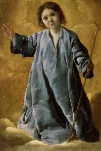 The Infant Christ, C1635-C1640 by Francisco de Zurbarán