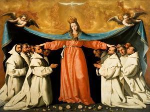 The Madonna of the Carthusians by Francisco de Zurbarán
