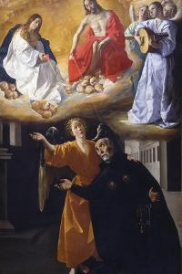 The Vision of Saint Alphonsus Rodríguez by Francisco de Zurbarán