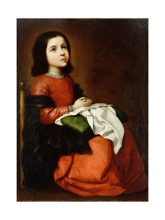 Virgin Mary as a Child