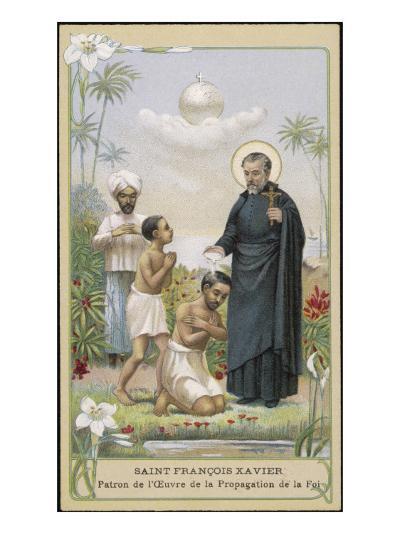 Francisco Javier (Xavier) Spanish Jesuit Missionary--Giclee Print