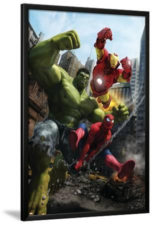 Marvel Adventures Iron Man Special Edition No.1 Cover: Iron Man, Hulk and Spider-Man