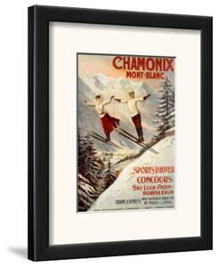 Chamonix, Mont Blanc by Francisco Tamagno