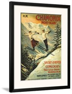 Chamonix by Francisco Tamagno