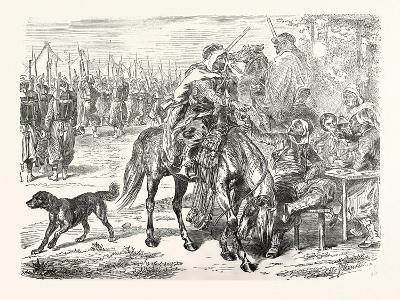 Franco-Prussian War: African Troops in the Camp of Chalons, France--Giclee Print