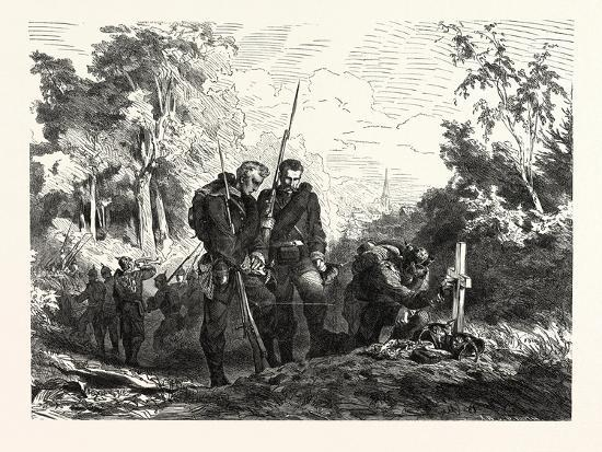 Franco-Prussian War: before Marching Further--Giclee Print