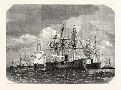 Franco-Prussian War: Blockade of the Baltic Sea--Giclee Print