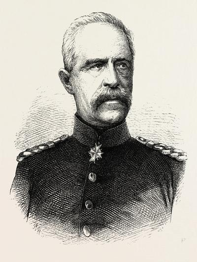 Franco-Prussian War: Bonin General, Governor General of Lorraine--Giclee Print