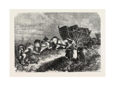 Franco-Prussian War: German Soldiers Battle of Paris 1870--Giclee Print