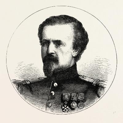 Franco-Prussian War: Pierre Philippe Marie Aristide Denfert-Rochereau--Giclee Print