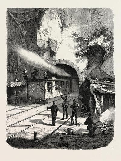 Franco-Prussian War: Prussian Guard Corps, Railway Tunnel Near Sarrebourg 1870--Giclee Print