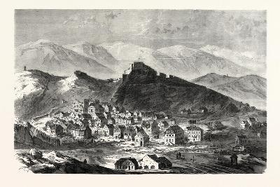 Franco-Prussian War: the City and the Fortress of Belfort, February 18--Giclee Print
