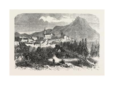 Franco-Prussian War: View of Forbach, 1870--Giclee Print