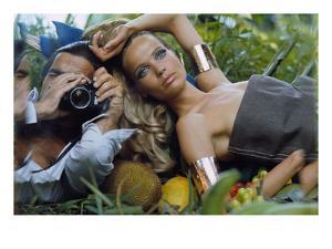 Vogue - January 1968 - Franco Rubartelli and Veruschka by Franco Rubartelli
