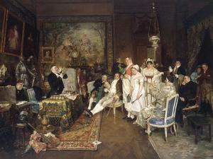 Disinherited by Francois Adolphe Grison