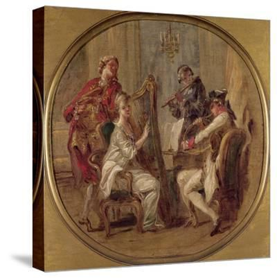 Concert with Four Figures, C.1774