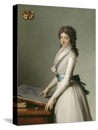 Portrait of Mary Broutin, Baroness Chalvet-Sonville