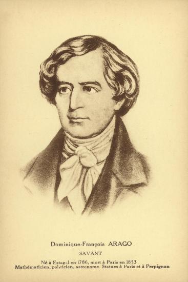 Francois Arago--Giclee Print