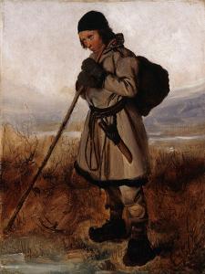 A Laplander by Francois Auguste Biard