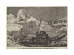 Lapland Lovers Off Cape North by Francois Auguste Biard