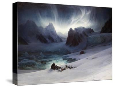 Magdalena Bay, View from Peninsula in Northern Spitsbergen with Aurora Borealis, 1841
