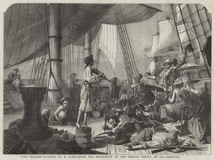 The Pirates by Francois Auguste Biard