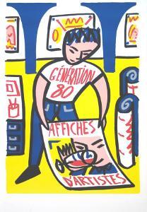 Affiche D'artiste by Francois Boisrond
