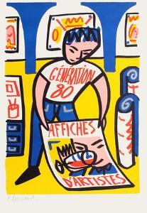 Affiches d'artistes by Francois Boisrond