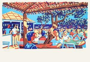Le club 55 a Saint Tropez by Francois Boisrond