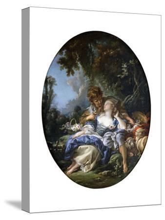 A Shepherd and a Shepherdess in Dalliance in a Wooded Landscape, 1761