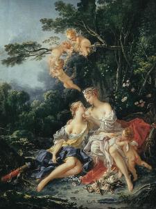 Jupiter and Callisto by Francois Boucher