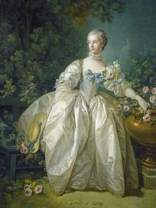 Madame Bergeret, C. 1766 by Francois Boucher