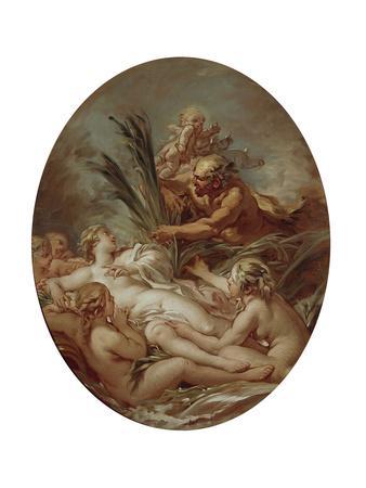 Pan and Nymph Syrinx, 1760-1765