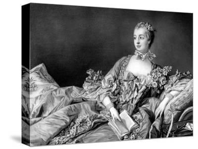 Portrait of Marquise de Pompadour, Mistress to King Louis XV