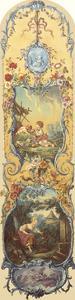 Rustic Pursuits I by Francois Boucher