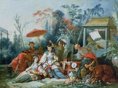 The Chinese Garden, circa 1742